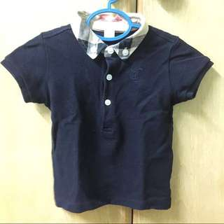 Authentic Burberry Baby Colar Shirt