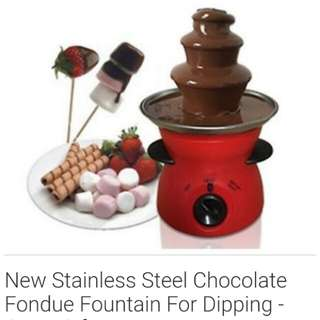 Chocolate fountain Great gift idea