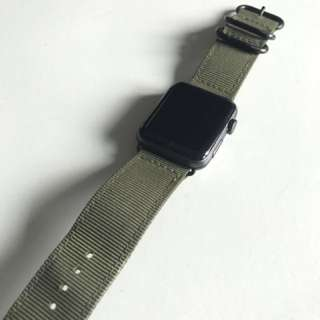Apple watch2 Nike with additional woven military stripes