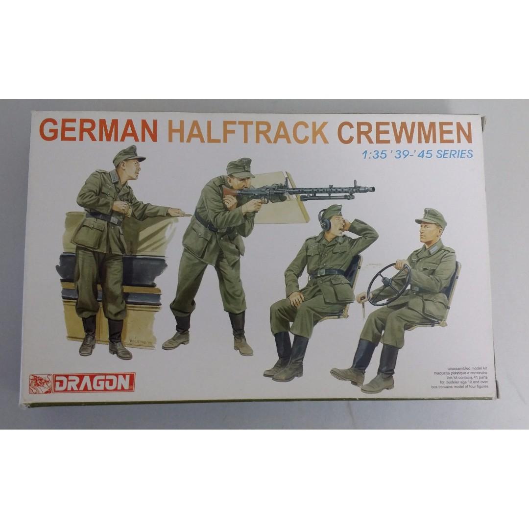 1/35 Scale German Halftrack Soldiers, Toys & Games, Bricks