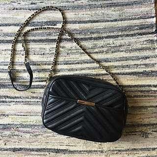 Zara Qulited Chain Bag
