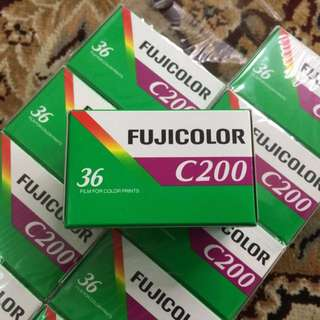Fujicolor Fresh Film C200 ( Iso 200 ) Exp Feb 2018 *Air* Ready Stock