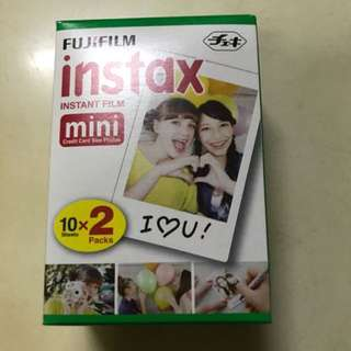 Fujifilm Instax Mini Polaroid Plain Films for Sale!