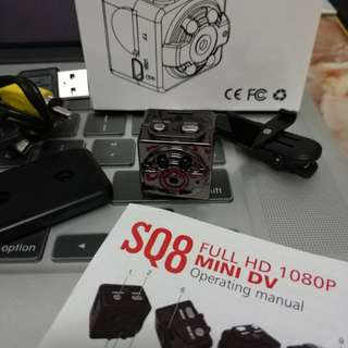 SQ8 Micro Full HD 1080p Mini Camera