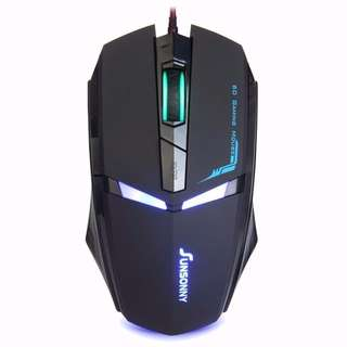 [INSTOCKS] Sunsonny Iron Man 6D Gaming Wired Mouse