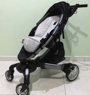 4MOMS Origami Stroller and Bassinet (carrycot)