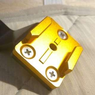 鋁合金後照鏡支架(gopro,SJ4000,小蟻運動相機)+J型快扣
