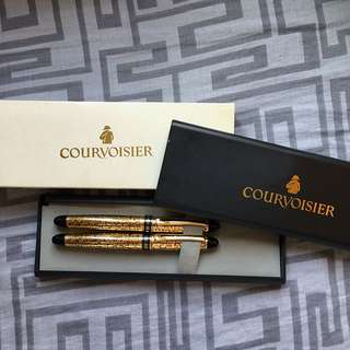 Courvoisier Fountain Pen + Ball Pen