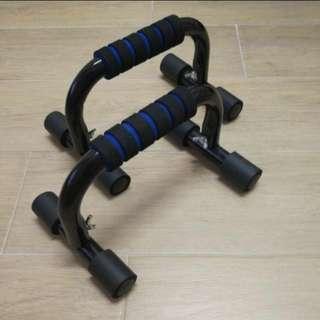 全新 現貨有盒 掌上壓 支撐架 健身 gym 練大胸肌 (送健身手套) (NEW with box) Power Press Push Up / Push-up Stand /Push Up Trainer (Gym Gloves For Free)