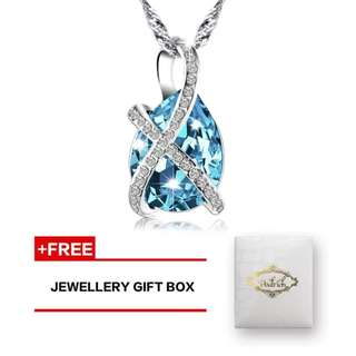 Main Stone:Swarovski Crystal Element Material: Environmentally friendly material Zinc Alloy Made From Professional Quality Material Come with a Pealrich fashionable gift box .