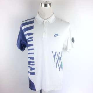 Vtg NIKE CHALLENGE COURT Tennis Shirt Unisex