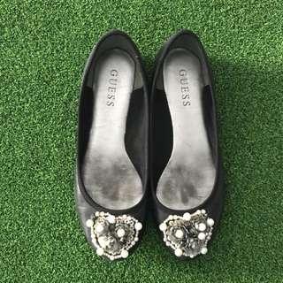 Sepatu Guess Hitam Original