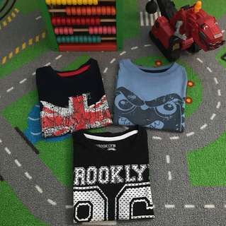 Combo 3 for RM10 Rebel 2-3 yrs