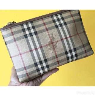 Authentic BURBERRY Nova Check Clutch Bag #Take10off
