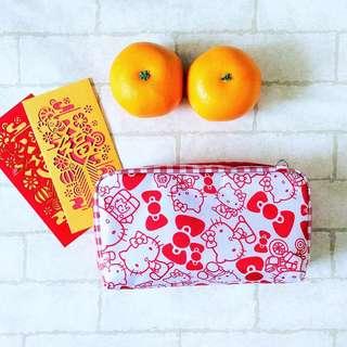 Waterproof SPACIOUS Hong Bao Organizer | Ang Pao Wallet | Waterproof Spacious Organizer 100 Red Packets | Sanrio Design SP01