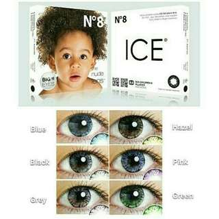 Softlens baby ice series no 8