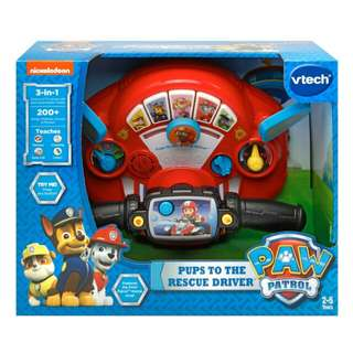 BNIB VTech Paw Patrol Pups to the Rescue Driver