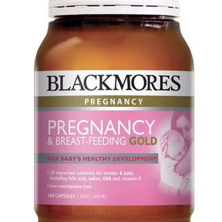 Blackmores Pregnancy Breastfeeding Gold