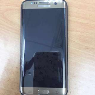 Samsung Galaxy S7 Edge In Gold Color (price reduced)