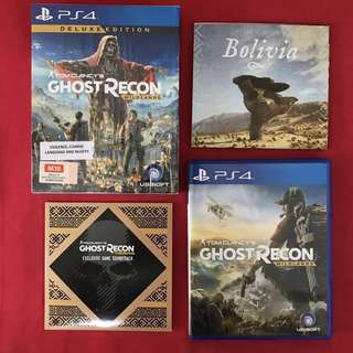 PS4: Tom Clancy's Ghost Recon - Wildlands [Deluxe Edition]
