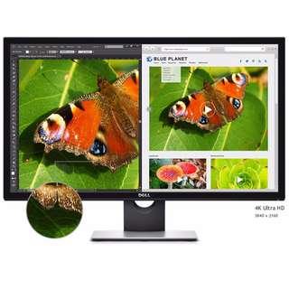 "Dell S2817Q 28"" 3840 x 2160 4K LED Monitor"