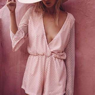 SABO LUXE - MESH PLAYSUIT