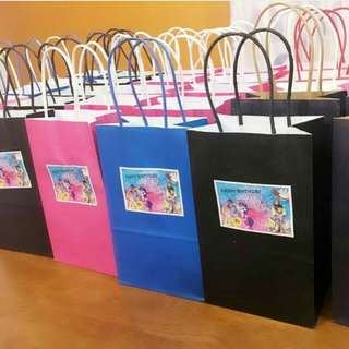 CUSTOMISED PAPERBAGS