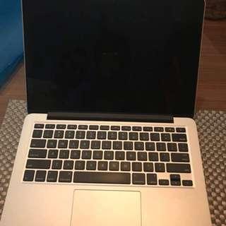 Macbook pro 13 inch 2014