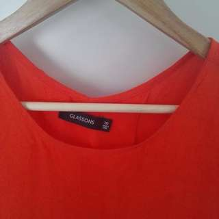 Glassons Open Back Tee