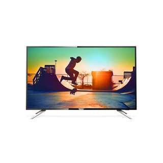 """Philips 50PUT6102 50"""" 4K Ultra Slim UHD Smart TV, USB , Speaker. WIFI Connection. (3 Years on-site Warranty by Philips)"""