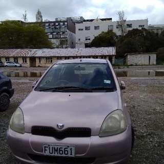 Toyota Vitz 1.8L 2001