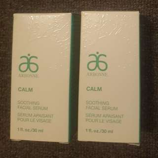 Arbonne Calm Soothing Facial Serum x 1