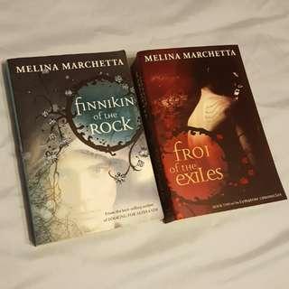 Finnikin of the Rock by Melina Marchetta (Books 1-2)