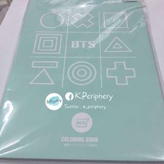 BTS 3rd Muster Coloring Books