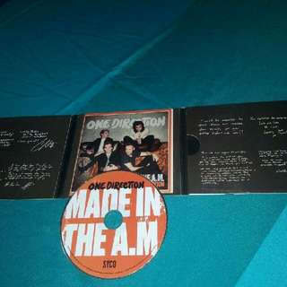 One Direction's Made in the AM Album