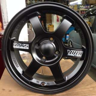 15 inch NEW SPORT RIM TE-37 PROMOTIONS