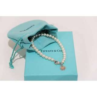 Authentic TIFFANY & Co Ziegfeld Collection Pearl Bracelet