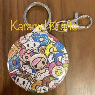 Personalised Mirror Keychain - Ready Stock