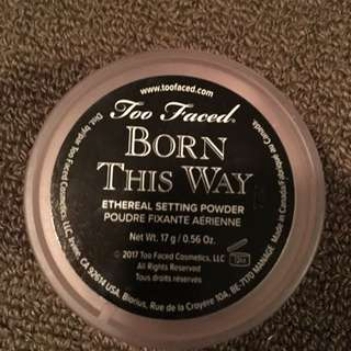 Brand new too faced born this way setting powder