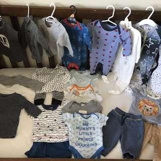 BULK BABY BOY 3-6 MONTH