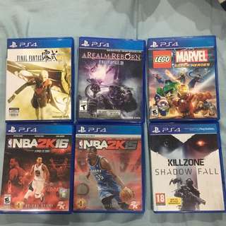 PS4 Games - Second Hand