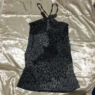 Super sexy dress silk