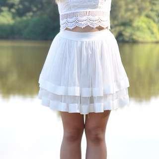 Lioness White Tutu Skirt