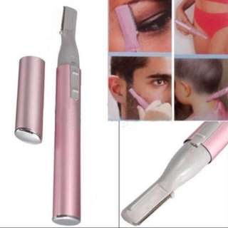 Promo $10 only (BN) Portable Electric face eyebrow hair body blade razor shaver trimmer Hair Armpit Underarm Eye Brown Pubic Private Area Beard Moustache Hair Removal Diy Tool Cutter Sideburn Kid Haircut
