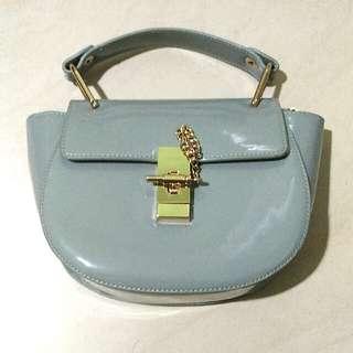 Grey Sling / Hand Bag ( Tas Abu Abu Rantai )