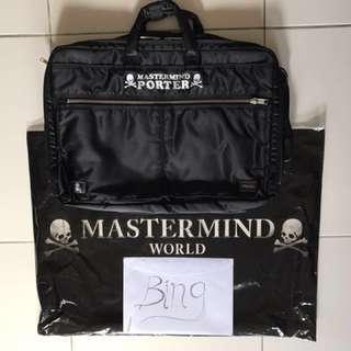 Mastermind x Porter 3-Way Briefcase