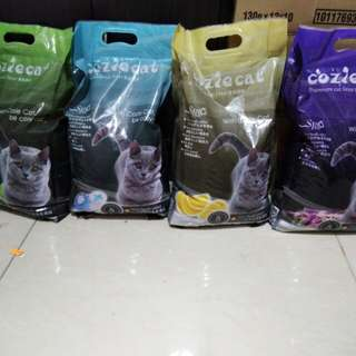 Cozie cat litter sand 5L