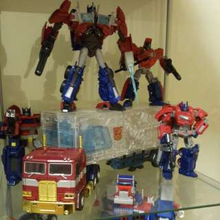 Optimus prime transformers masterpiece MP
