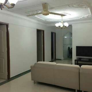 Rental of Master Bedroom and Common Rooms
