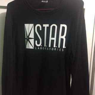 STAR Labs sweatshirt (black)